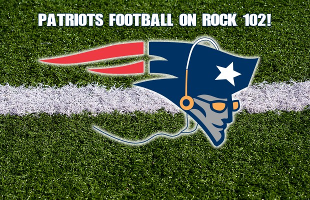New England Patriots Football on Rock 102!