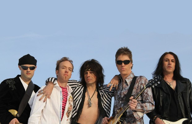 Drawing Lines Band : Draw the line endorsed aerosmith tribute band rock