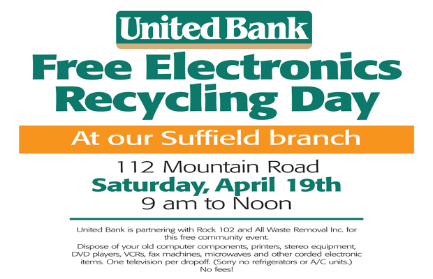 Electronics Recycling at United Bank